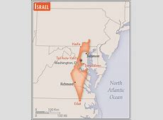 Israel Geography 2018, CIA World Factbook