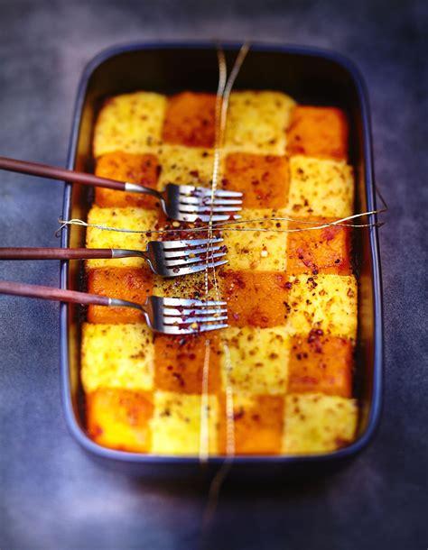 cuisine de de noel purées de pommes de terre et potimarron au gingembre pour