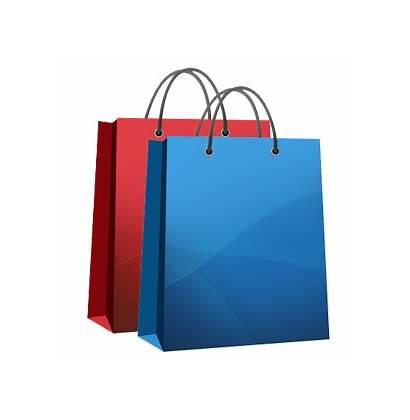 Shopping Bag Bags Transparent Clipart Trolleys Clip