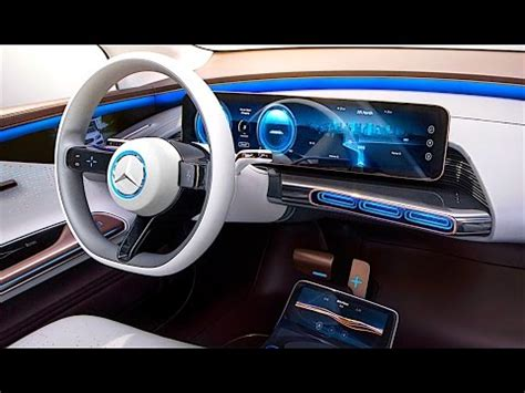 New Car Upholstery by Mercedes Eq Interior In Detail 2017 New Mercedes Electric