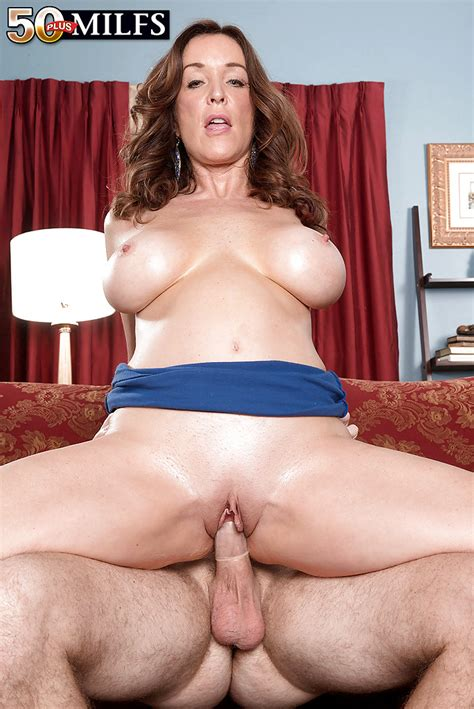 Over 50 Milf Rachel Steele Blindfolding Younger Man Before