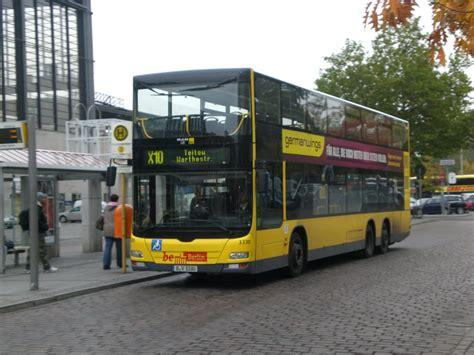 X10 Bus Man Lion S City Dd Doppelstock Auf Der Linie X10 Nach