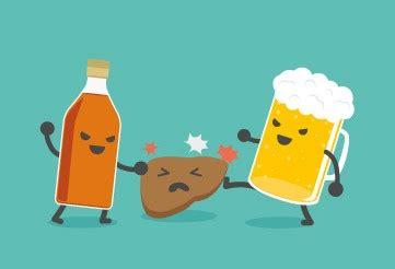 excessive alcohol consumption bad   liver