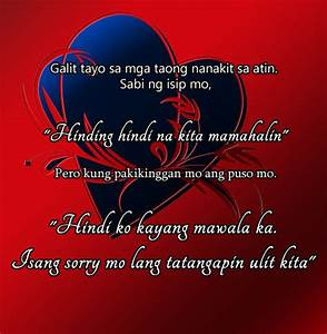Tagalog Love Quotes For Him Free Images Pictures Pics ...