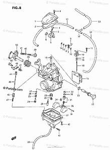 Suzuki Motorcycle 1986 Oem Parts Diagram For Carburetor