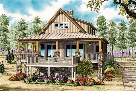 Low Country Cottage House Plan