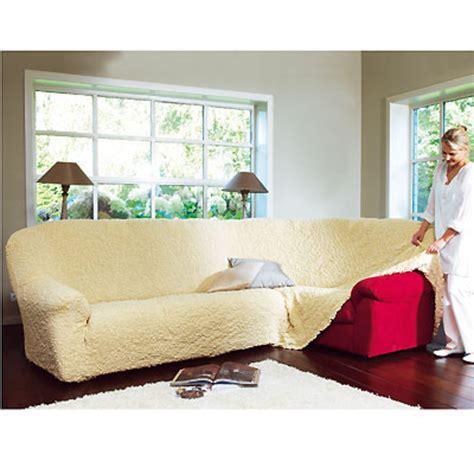 housse extensible pour canapé d angle housse d 39 angle de canapé