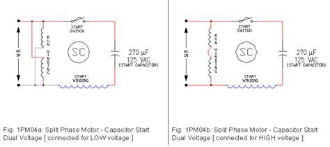 1 phase motor drawings 1 ecn electrical