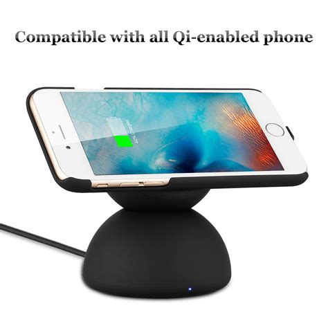 Samsung Lade Led by Qi Wireless Charger Ladestation Ladeger 228 T Led Induktion