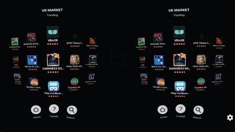 google cardboard apps  top games  apps   mobile vr headset