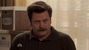 Ron Swanson Smiling GIF - Find & Share on GIPHY
