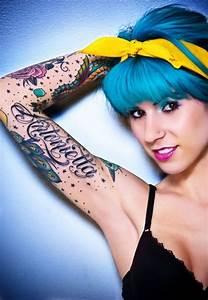 Ecriture Tatouage Femme : tatouage ecriture bras les tatouages ~ Melissatoandfro.com Idées de Décoration