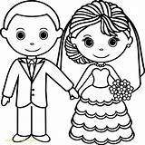 Coloring Pages Couple Married Printable Getdrawings Getcolorings Template Pag sketch template