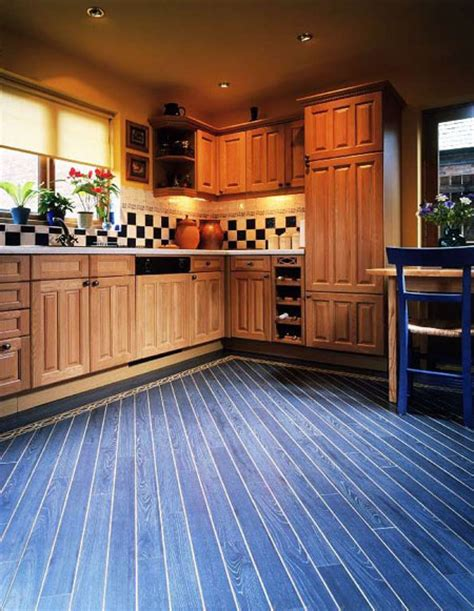 blue kitchen floor blue kitchen floor wood floors 1734