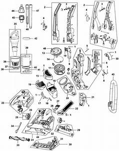 Hoover Uh70608 Windtunnel Vacuum Parts