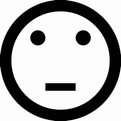 Neutral Emoticon Icons