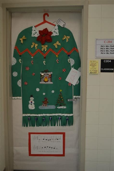 Decorating Ideas For Sweaters by Door Decorations Www Indiepedia Org
