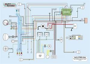 Honda Shadow Vt 600 Wiring Diagram