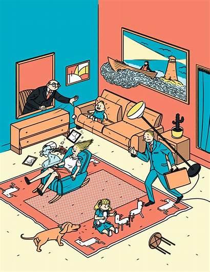 Illustration Inspiration Janne Sz Illustrations Magazin Iivonen