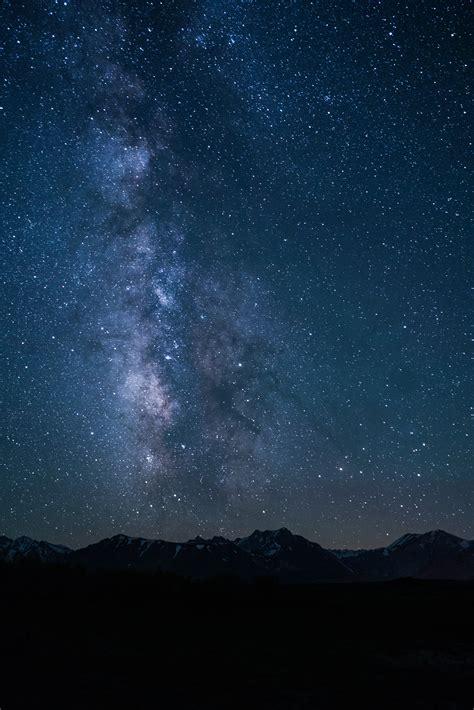 รูปภาพ ธรรมชาติ ท้องฟ้า กลางคืน ดาว ทางช้างเผือก