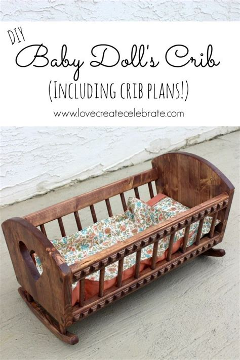 baby doll crib plans  woodworking projects plans