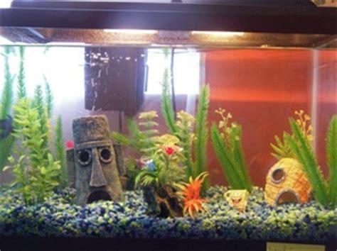 Spongebob Aquarium Decor by Penn Plax Spongebob S Pineapple Home Ornament