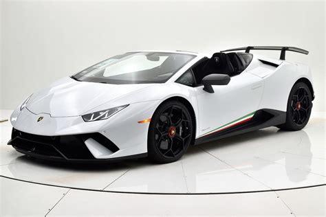 Lamborghini Huracan 2019 by New 2019 Lamborghini Huracan Lp640 4 Performante Spyder