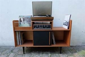 Bac A Vinyl : rangement pour vinyl best meuble pour vinyl des tagres design pour booster ma pice collection ~ Teatrodelosmanantiales.com Idées de Décoration