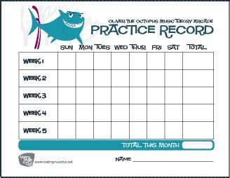 78 Printable Music Practice Log Pin By Piano Teachers