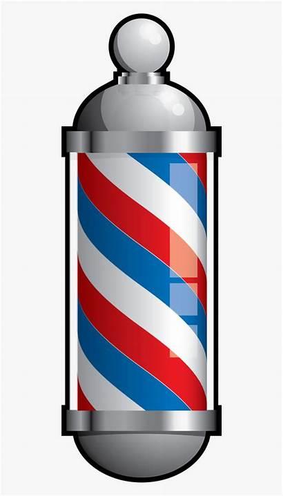 Barber Pole Transparent Clipart Hairdresser Graphics Moustache