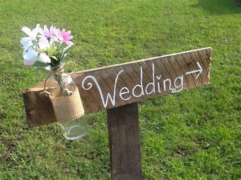Rustic Wedding Sign Mason Jar Wedding Sign Wooden By