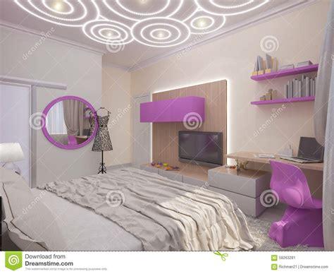 chambre à coucher fille cuisine chambre coucher moderne pour la fille photos