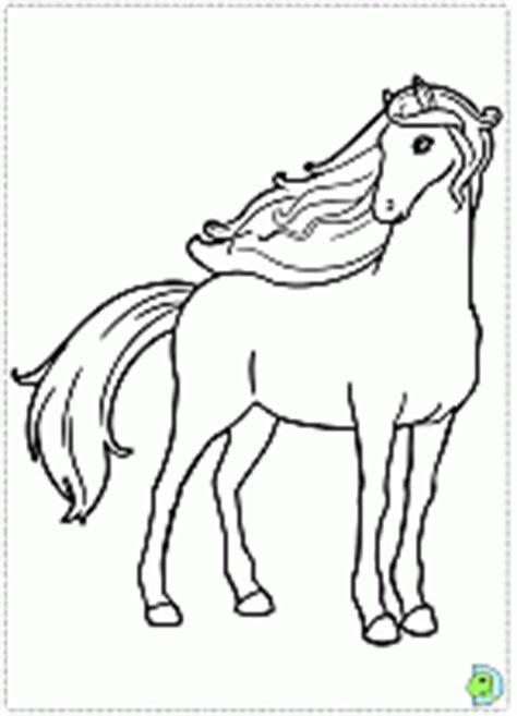 barbie   sisters   pony tale coloring pages dinokidsorg