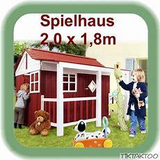 Spielhaus Holz Kinderspielhaus Gartenhaus Holzhaus Neu Ebay