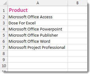 excel data cleaning