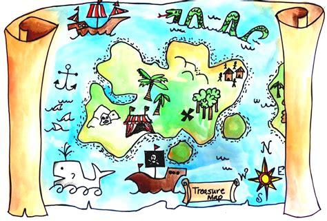clipart map treasure collection rf clipartpost