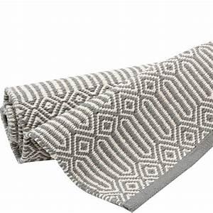 Teppich 100 X 200 : teppich braid 200 x 300 cm grau weiss bei le bon jour ~ Bigdaddyawards.com Haus und Dekorationen