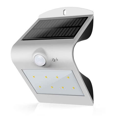 atrium solar motion sensor light