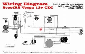 Modern Vespa   Vbb Electrical Help