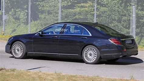 S Class Facelift 2018 by 2018 Mercedes S Class Facelift Spied With Several Changes