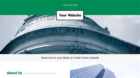Credit Union Website Template bank or credit union website templates godaddy