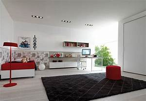 Modern teen bedroom interior design decobizzcom for Interior design for teenager rooms