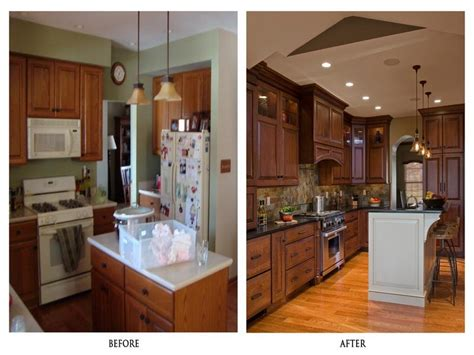 kitchen remodel before and after idea home ideas collection galley kitchen remodel before