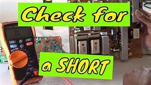 Troubleshooting Television Circuits With Blown Fuses