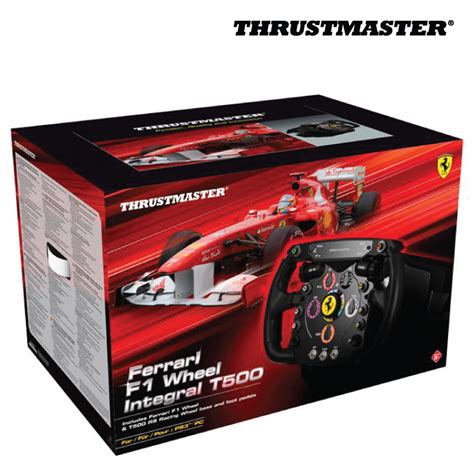 thrustmaster ferrari  wheel integral  racing wheel