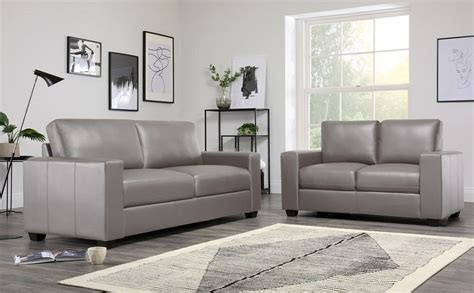 Settee Suites by Mission Taupe Leather Sofa Sofas Settee Suite Suites