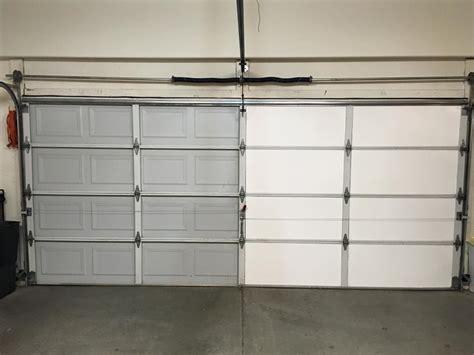 Insulfoam  Diy Garage Door Insulation Installation In