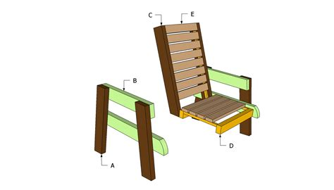 wood deck chair plans easy diy woodworking projects step