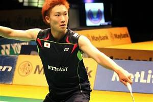 Male Athletes World: Badminton: Japan's Kento Momota (桃田 ...
