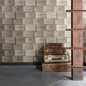 Papier Peint Blanc Leroy Merlin Trendy Marvelous Papier